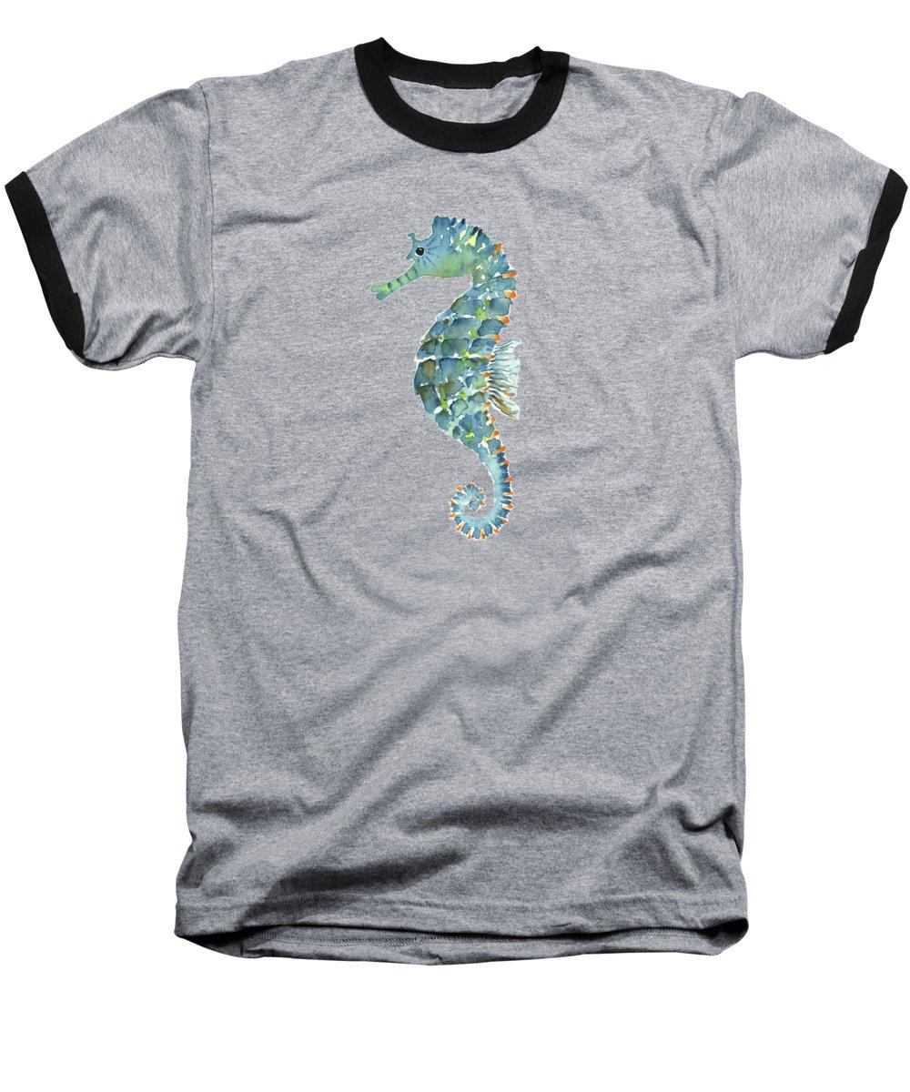 Seahorse Baseball T-Shirts
