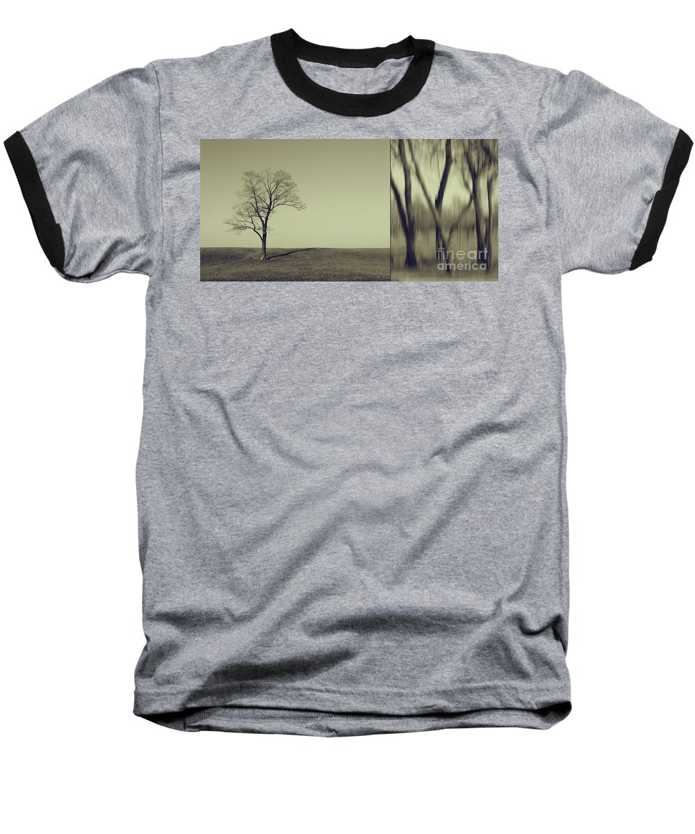 Chicago Baseball T-Shirt featuring the photograph Can You Hear My Silent Words Whispering Along The Wind by Dana DiPasquale