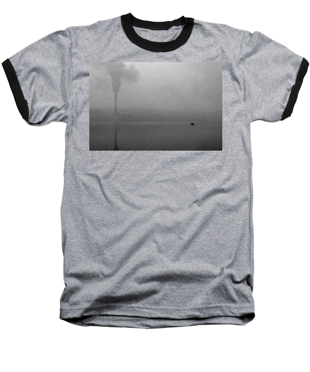 Solitude Baseball T-Shirt featuring the photograph Cayuga Solitude by Jean Macaluso