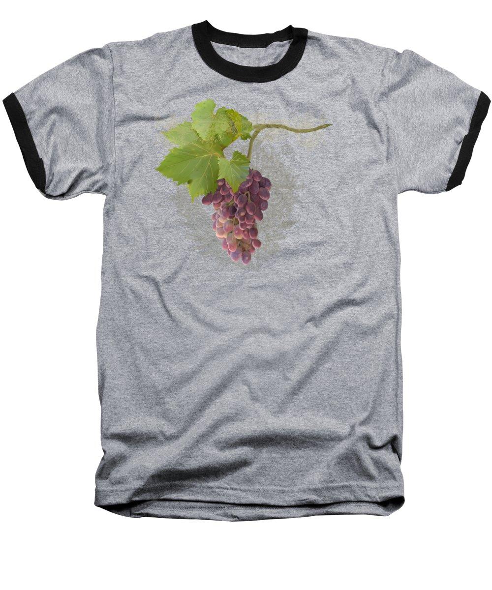 Grape Baseball T-Shirts