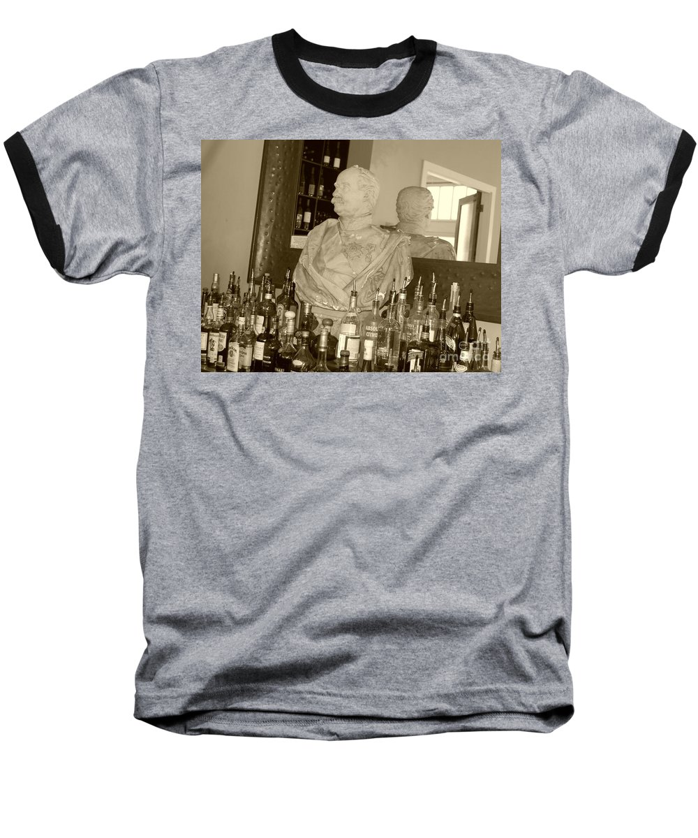 Bust Baseball T-Shirt featuring the photograph Chipped Reflection by Debbi Granruth