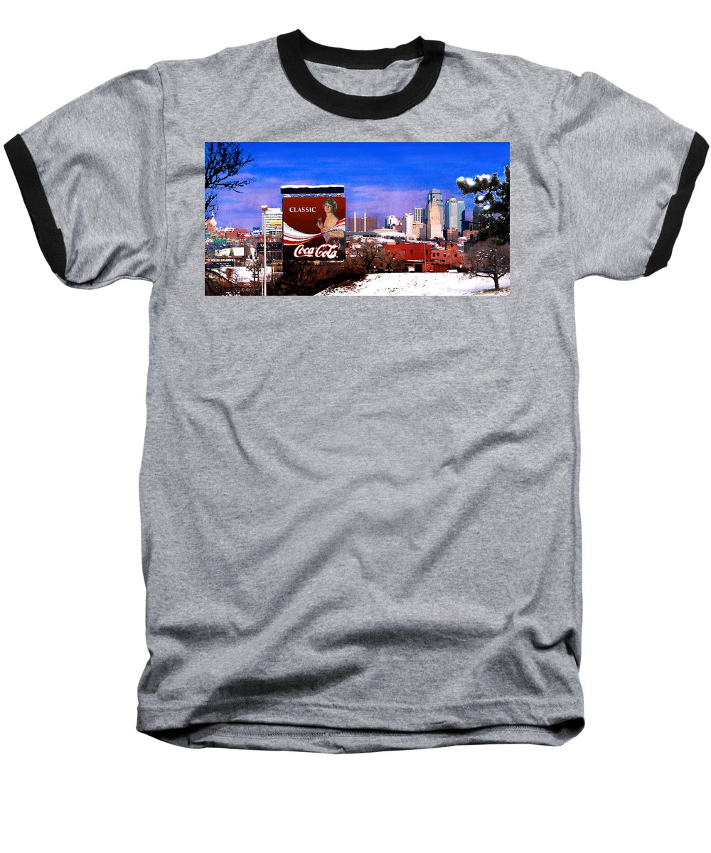 Landscape Baseball T-Shirt featuring the photograph Classic by Steve Karol