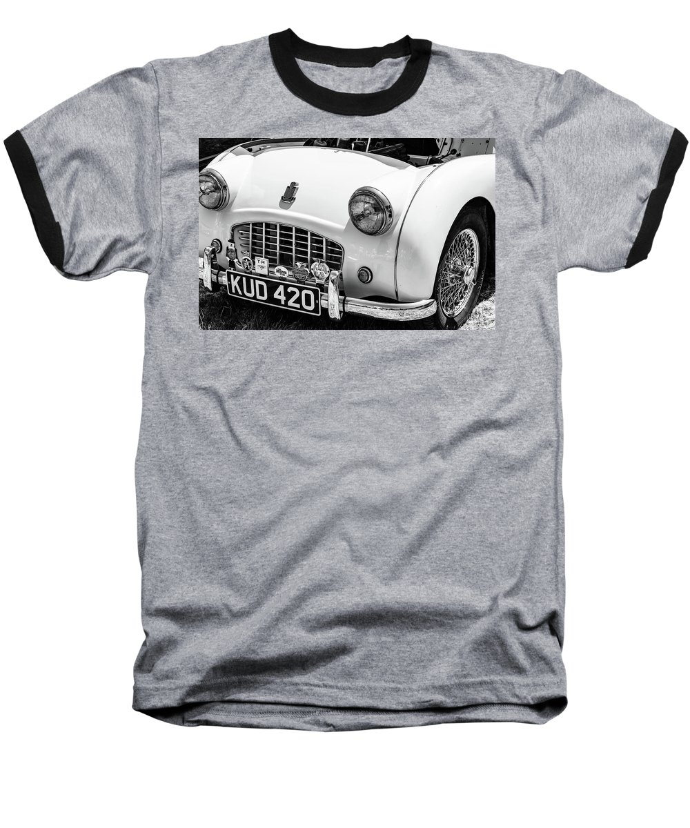Classic Triumph Tr4 1950s Ringer T Shirt For Sale By Graham Cornall