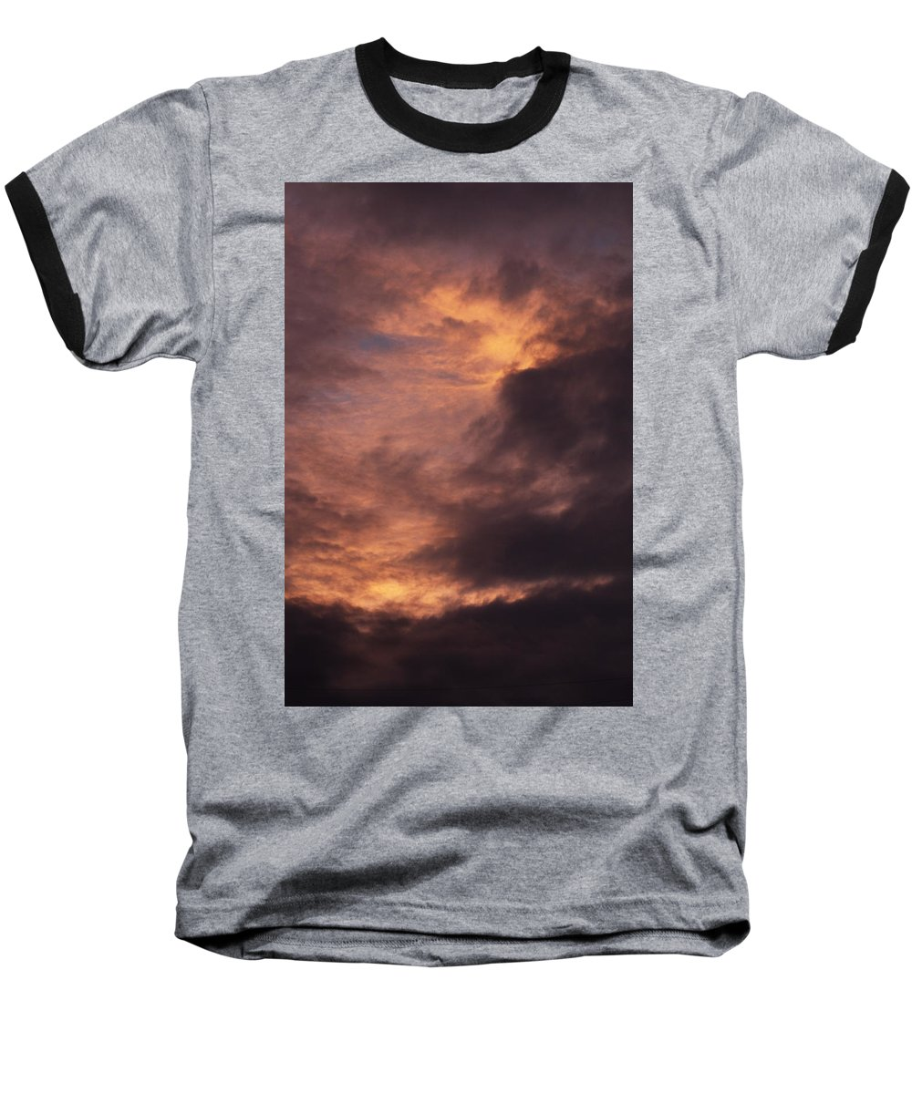 Clay Baseball T-Shirt featuring the photograph Clouds by Clayton Bruster