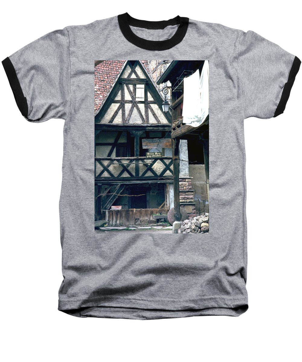 Colmar Baseball T-Shirt featuring the photograph Colmar by Flavia Westerwelle