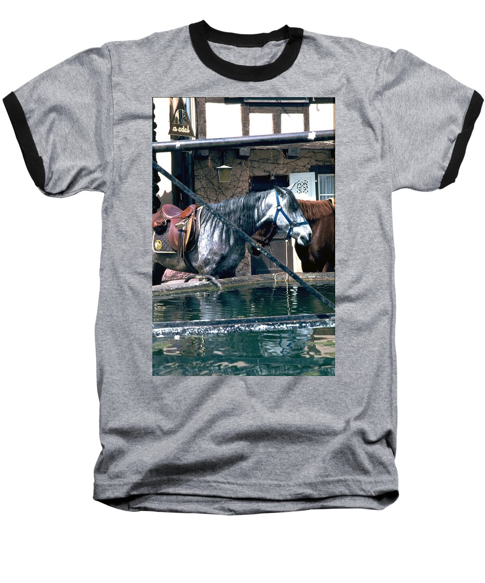 Colmar Baseball T-Shirt featuring the photograph Colmar II by Flavia Westerwelle