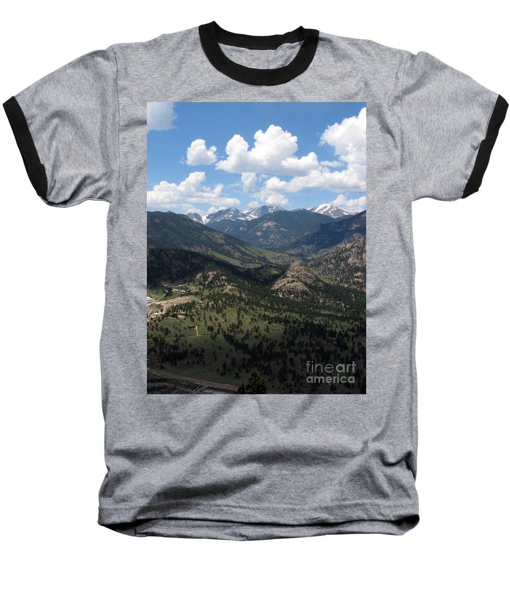 Colorado Baseball T-Shirt featuring the photograph Colorado by Amanda Barcon