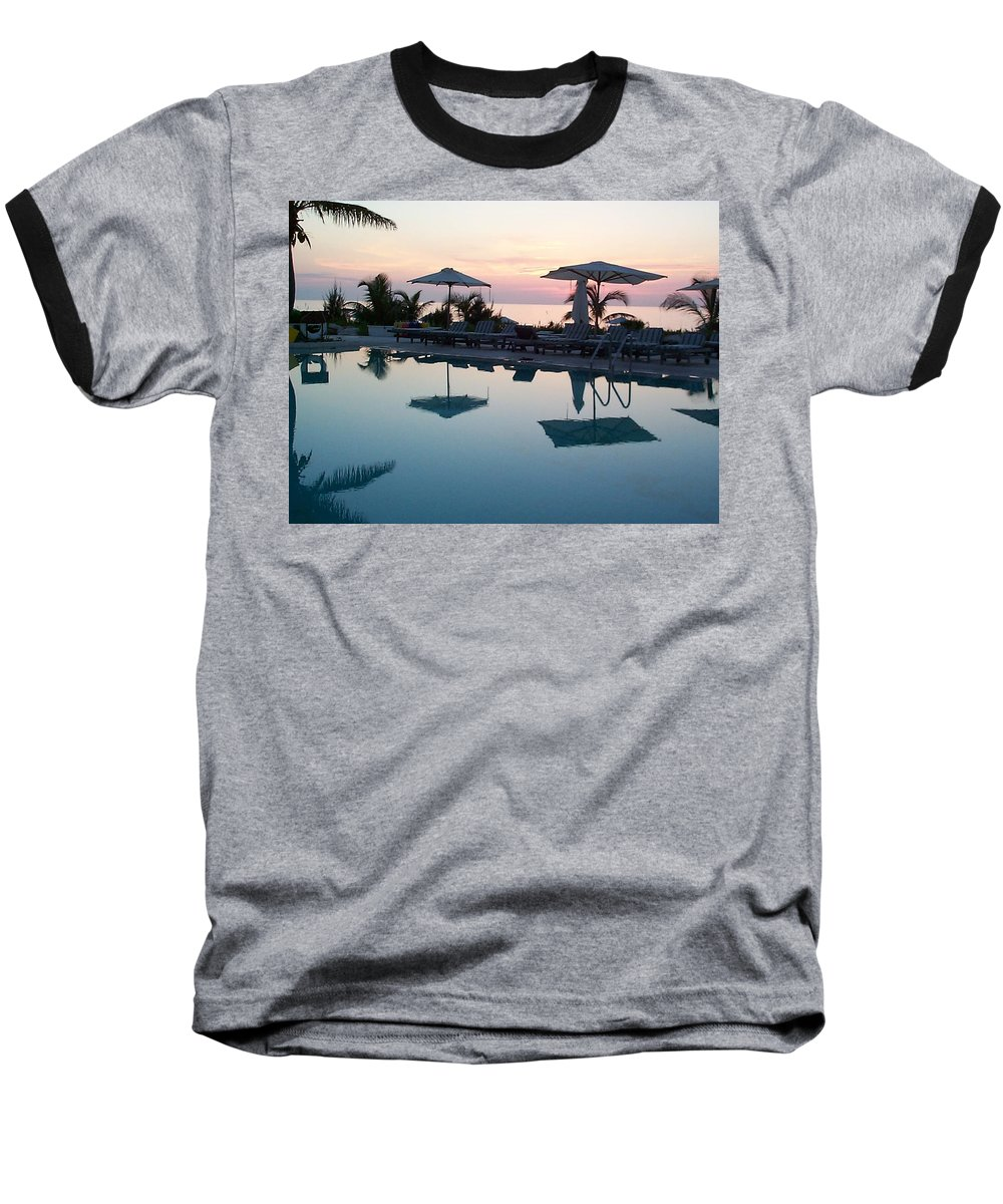 Charity Baseball T-Shirt featuring the photograph Columbus Isle by Mary-Lee Sanders