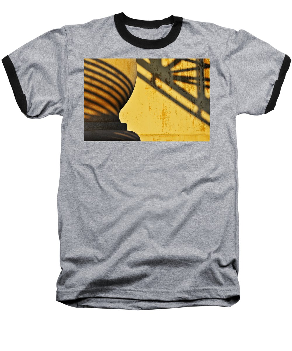 Architecture Baseball T-Shirt featuring the photograph Comb Over by Skip Hunt