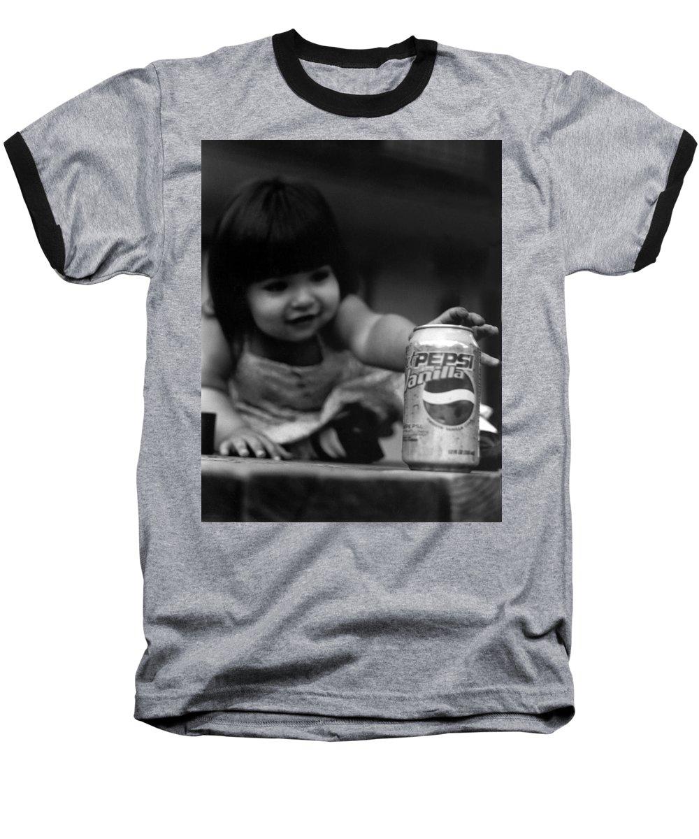 Dark Art Baseball T-Shirt featuring the photograph Consumer by Peter Piatt