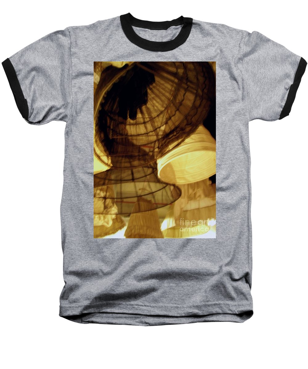 Theatre Baseball T-Shirt featuring the photograph Crinolines by Ze DaLuz