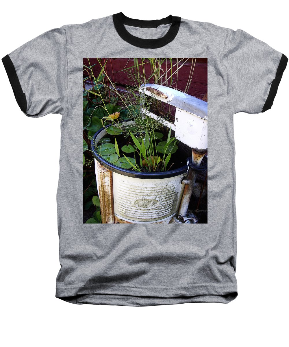 Wringer Baseball T-Shirt featuring the photograph Dead Wringer by Tim Nyberg