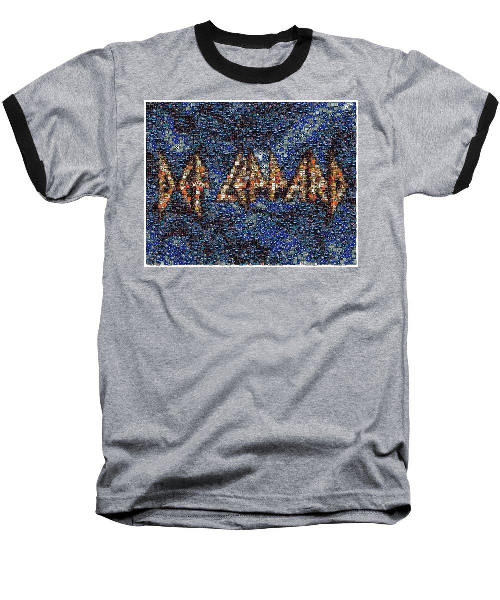 Def Leppard Baseball T-Shirts