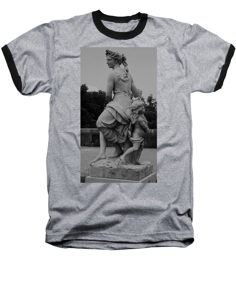 Figurative Baseball T-Shirt featuring the painting Diana by Eric Schiabor