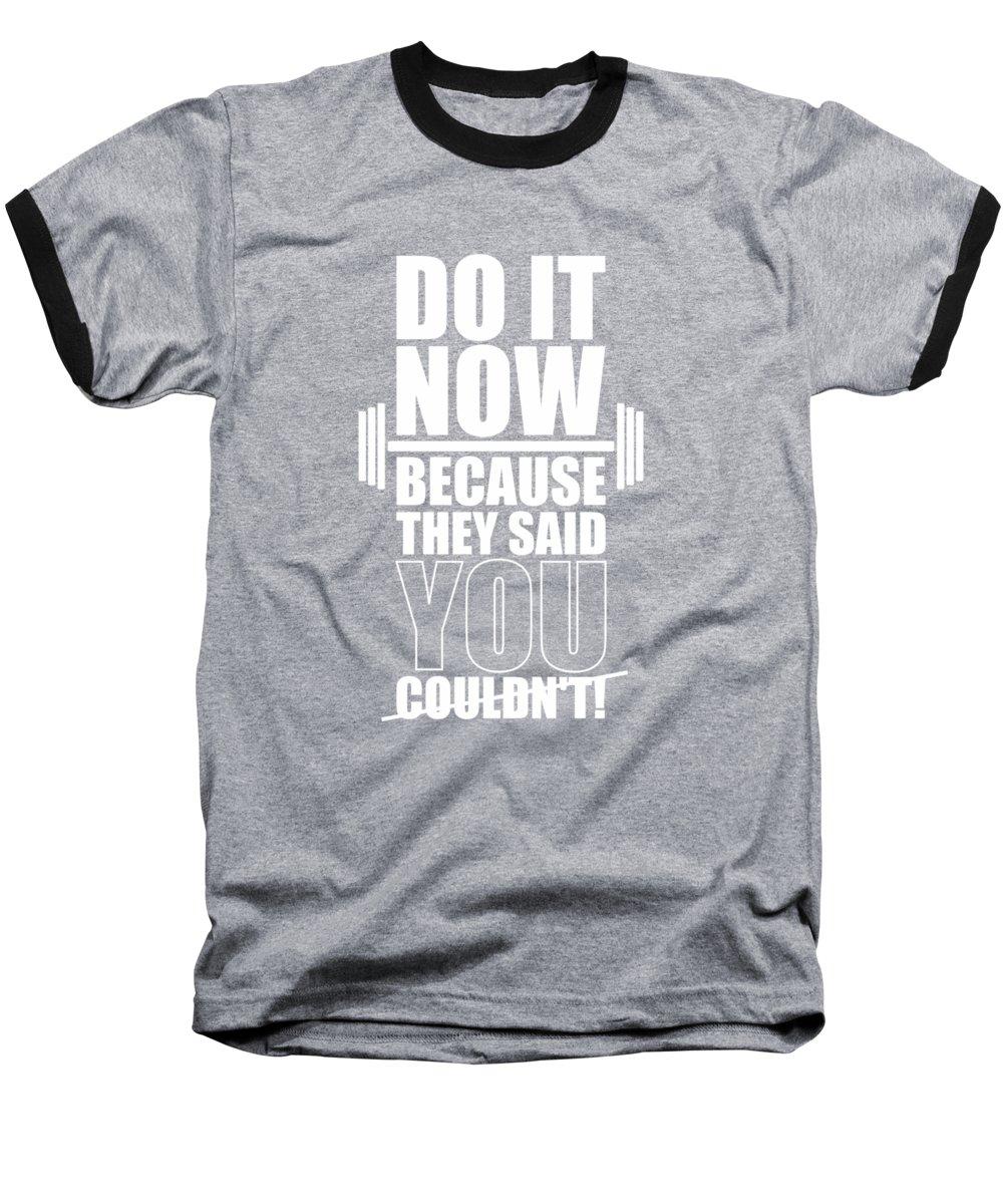 Workout Baseball T-Shirts