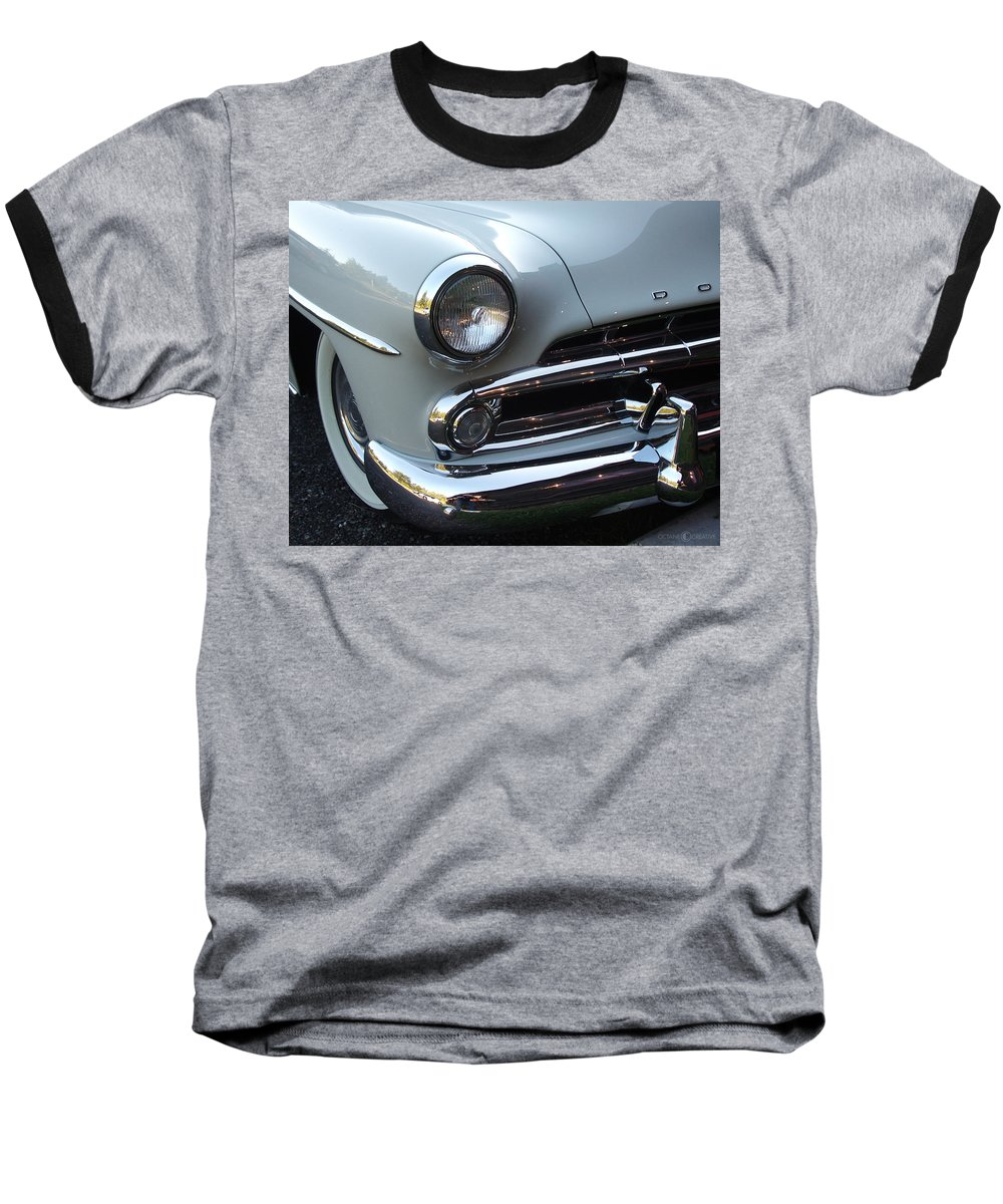 Dodge Baseball T-Shirt featuring the photograph Dodge by Tim Nyberg
