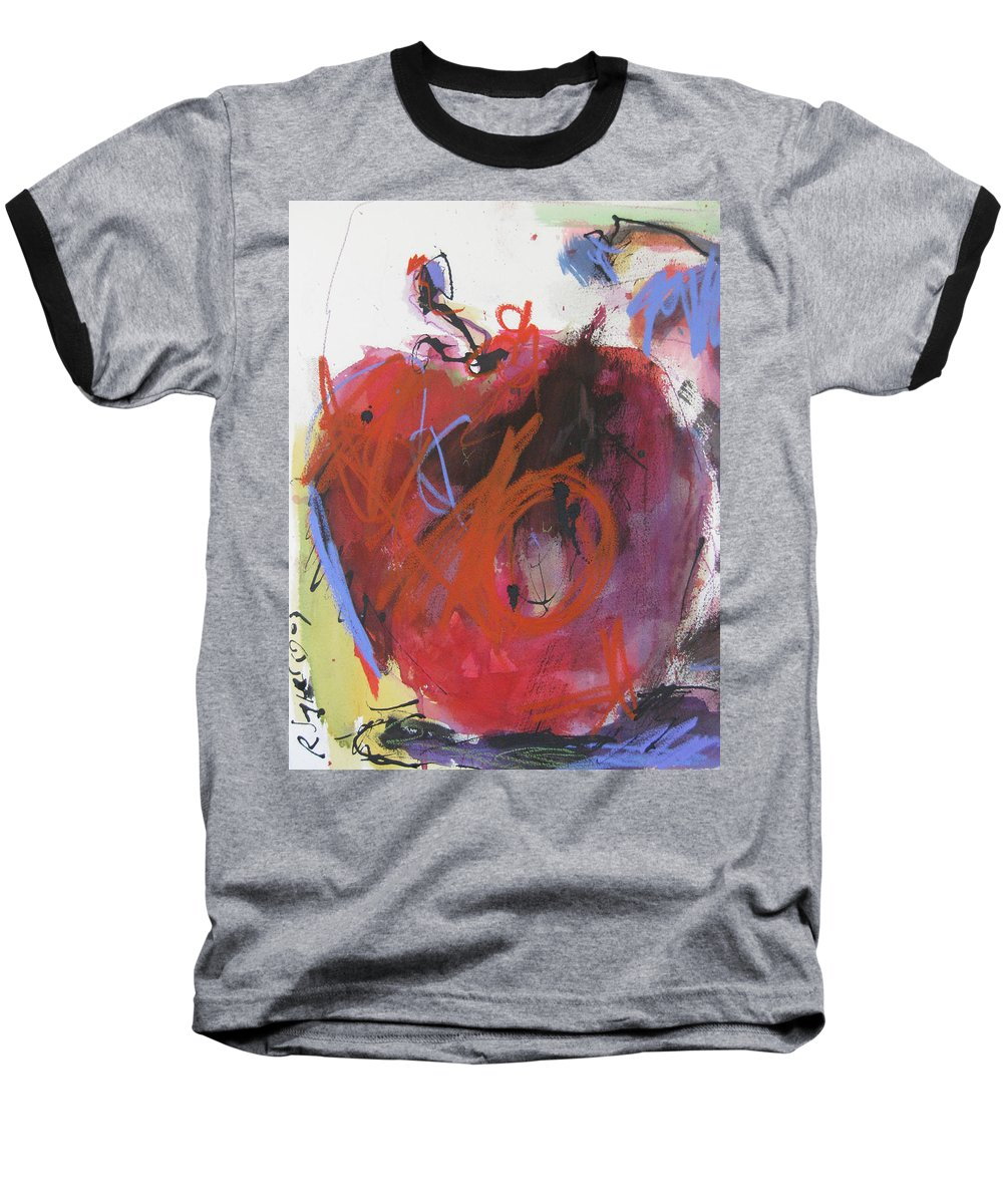 Apple Baseball T-Shirt featuring the painting Dr. Repellent by Robert Joyner