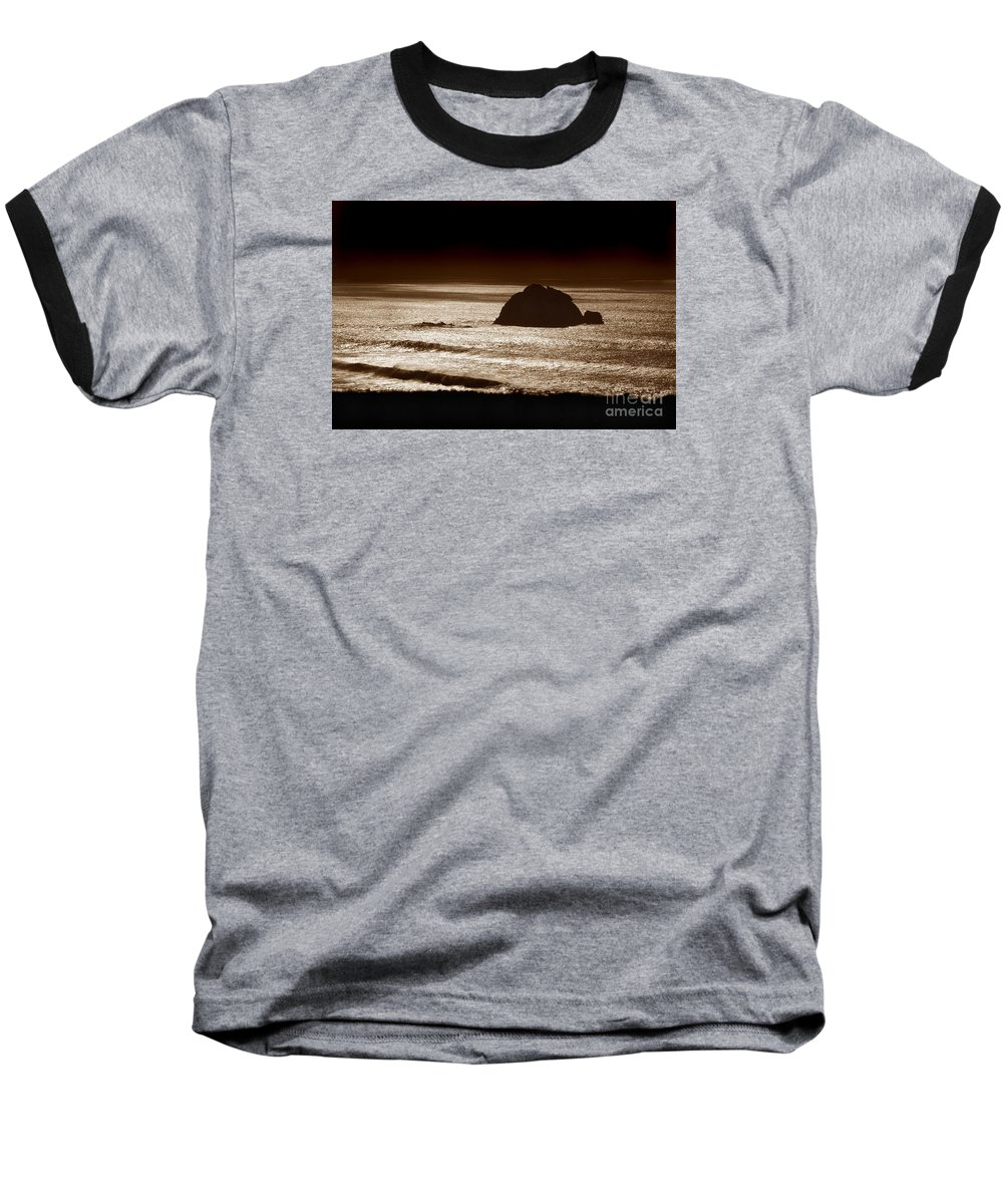 Big Sur Baseball T-Shirt featuring the photograph Drama On Big Sur by Michael Ziegler