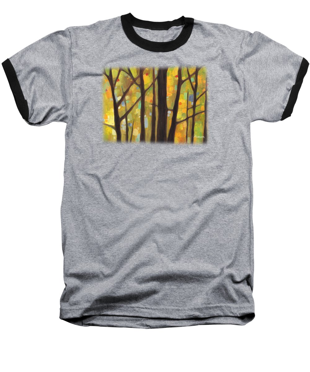 Autumn Art Baseball T-Shirts