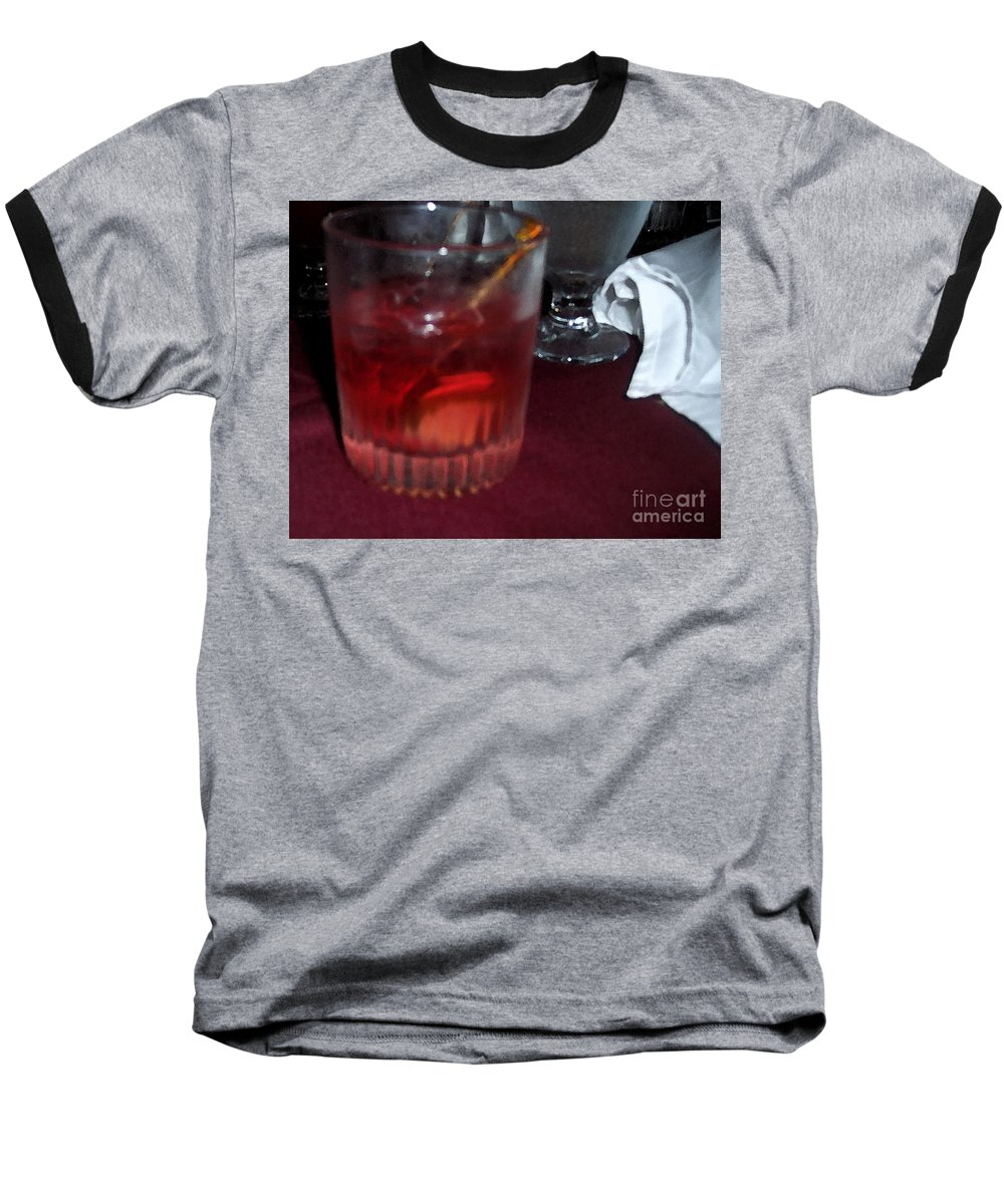 Drinks Baseball T-Shirt featuring the photograph Drink Up by Debbi Granruth