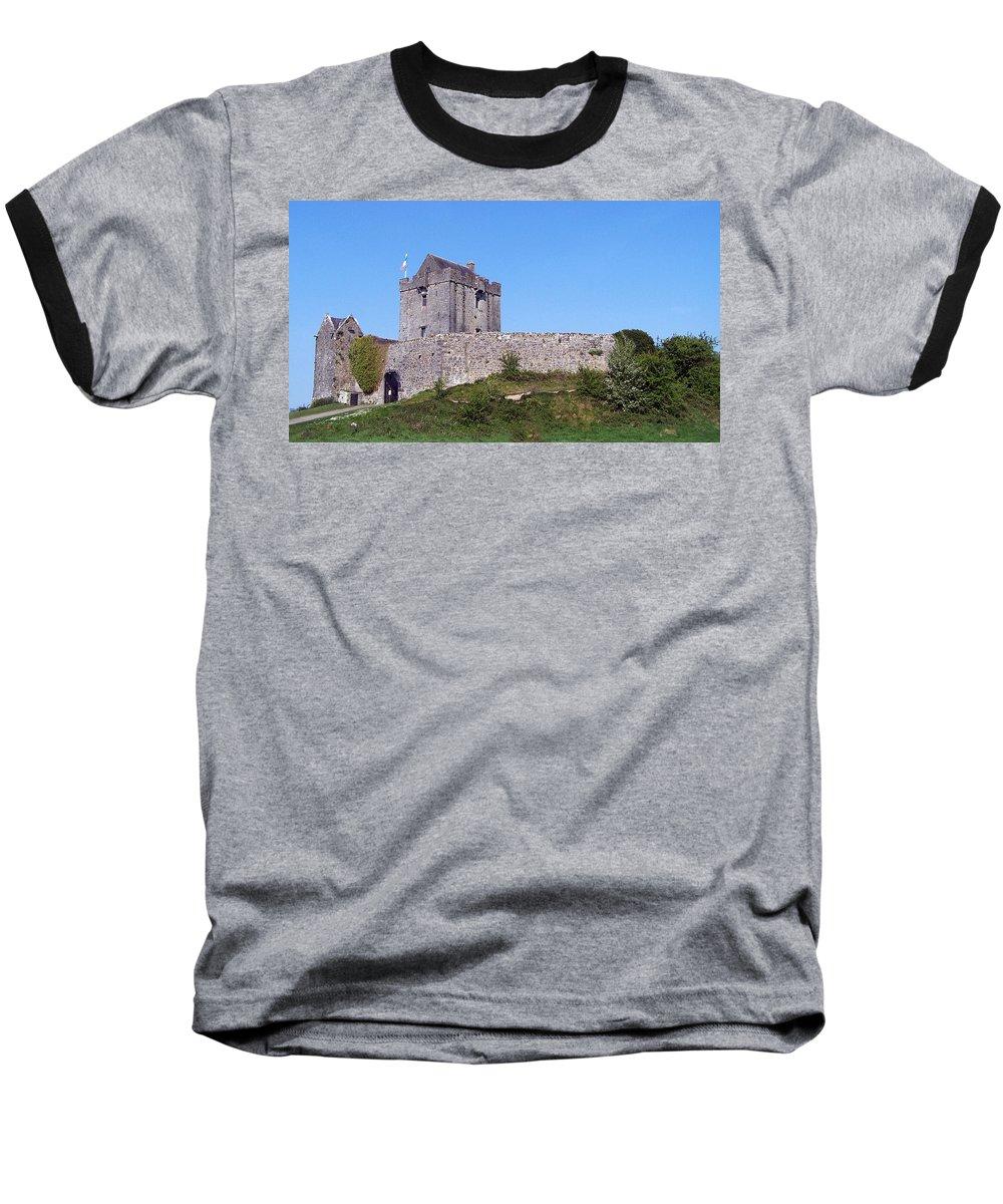 Irish Baseball T-Shirt featuring the photograph Dunguaire Castle Kinvara Ireland by Teresa Mucha
