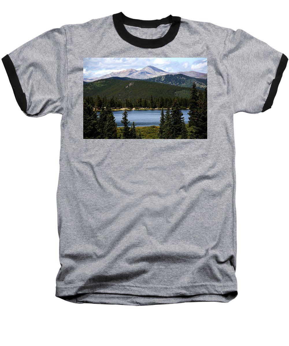 Colorado Baseball T-Shirt featuring the photograph Echo Lake Colorado by Marilyn Hunt