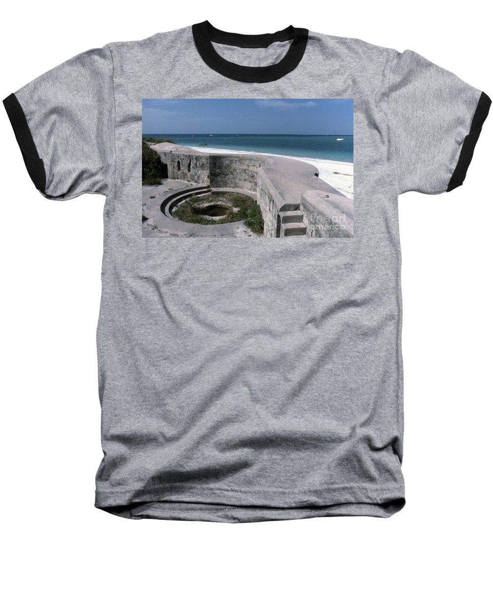 Beaches Baseball T-Shirt featuring the photograph Egmont Key by Richard Rizzo