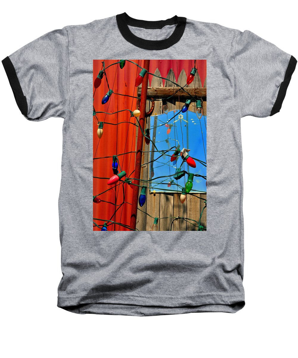 Skip Hunt Baseball T-Shirt featuring the photograph Electric Lady Land by Skip Hunt
