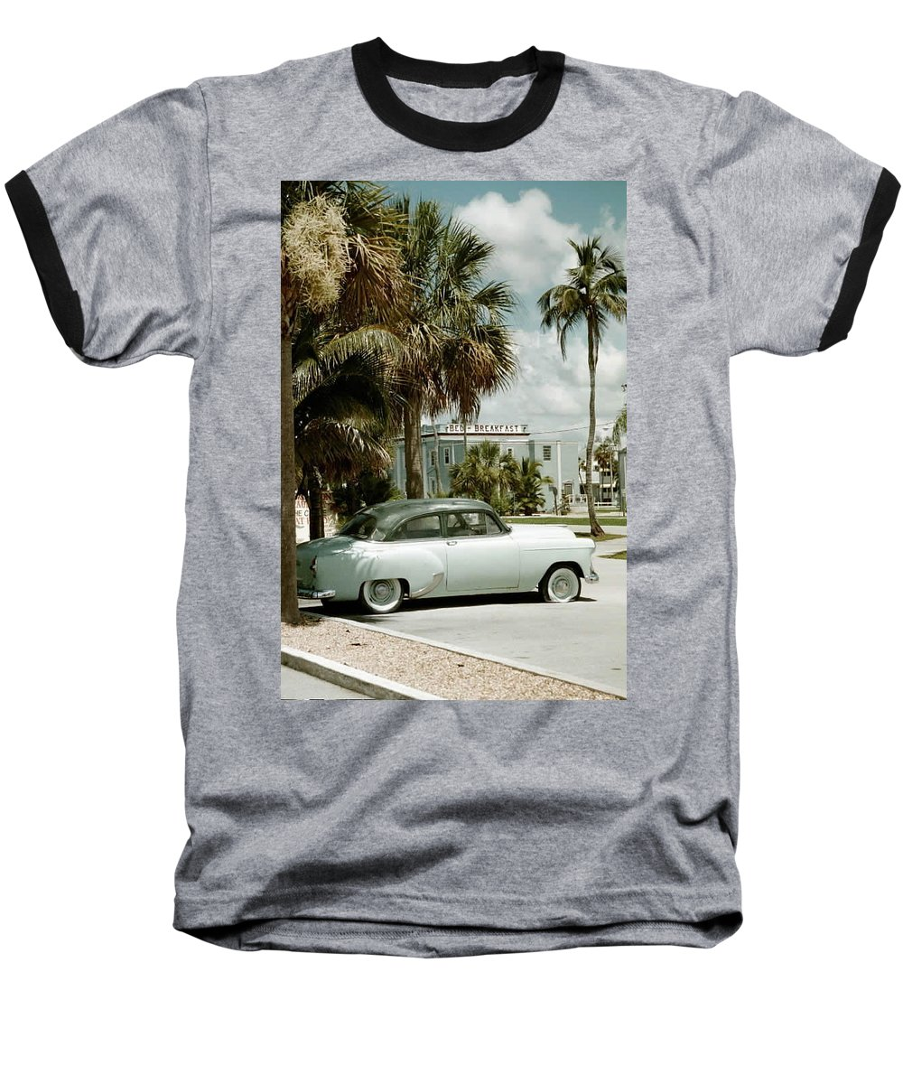 Everglade City Baseball T-Shirt featuring the photograph Everglade City I by Flavia Westerwelle
