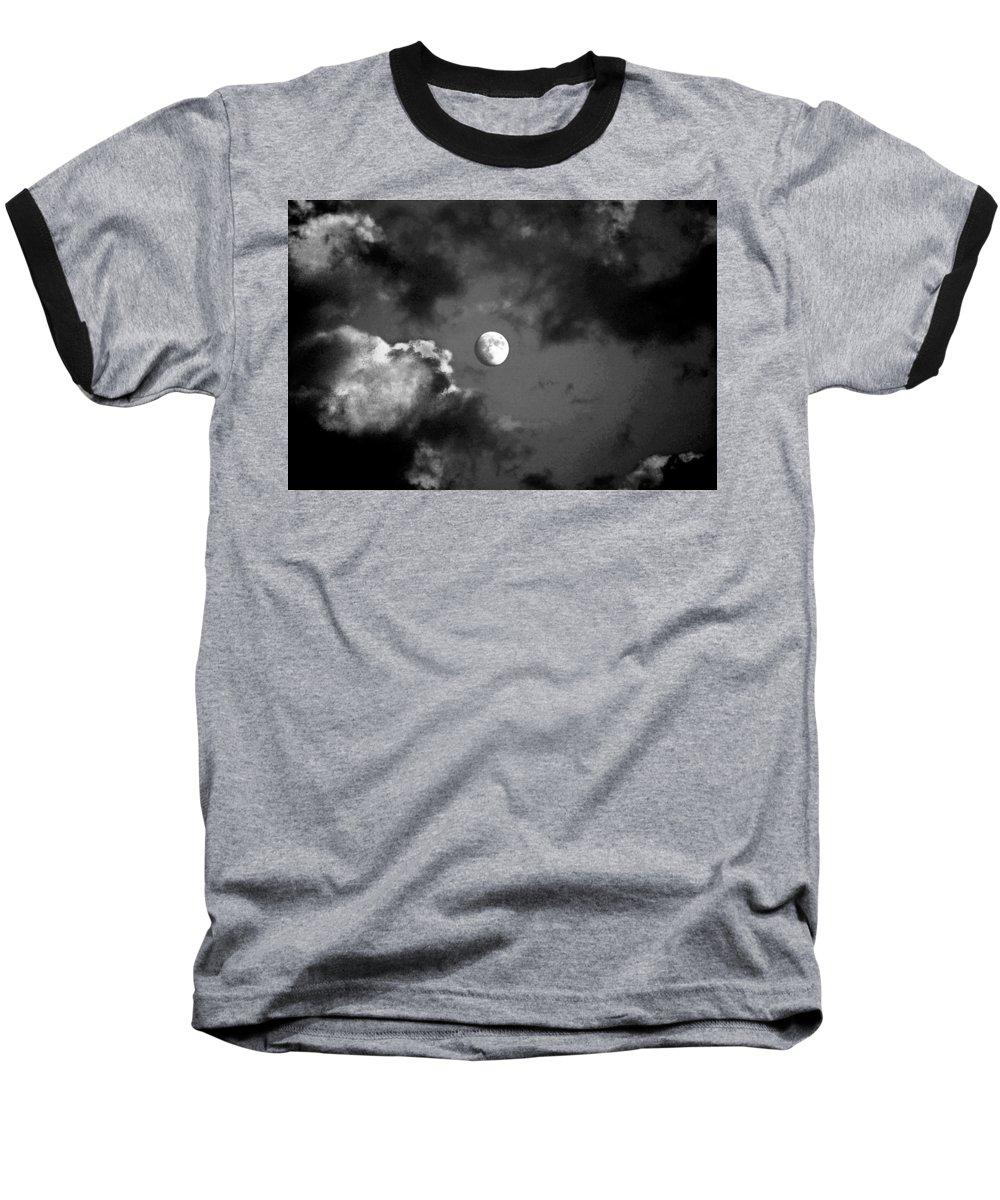 Sky Baseball T-Shirt featuring the photograph Eye In The Sky by Steve Karol
