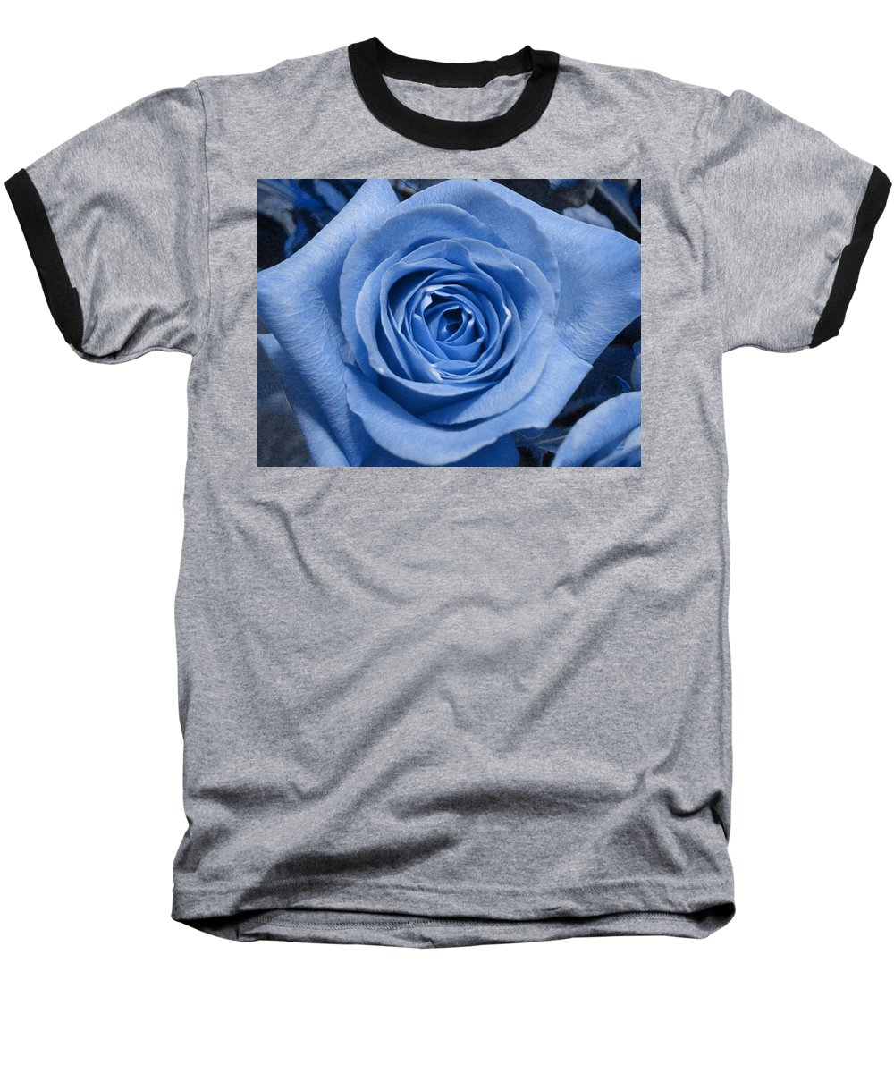 Rose Baseball T-Shirt featuring the photograph Eye Wide Open by Shelley Jones