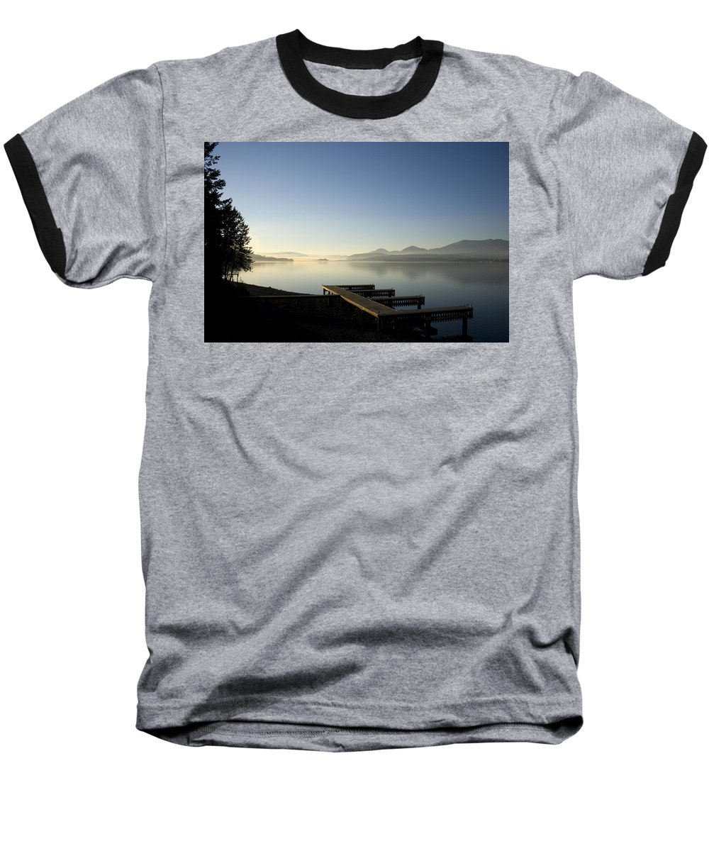 Landscape Baseball T-Shirt featuring the photograph Fall Evening by Lee Santa