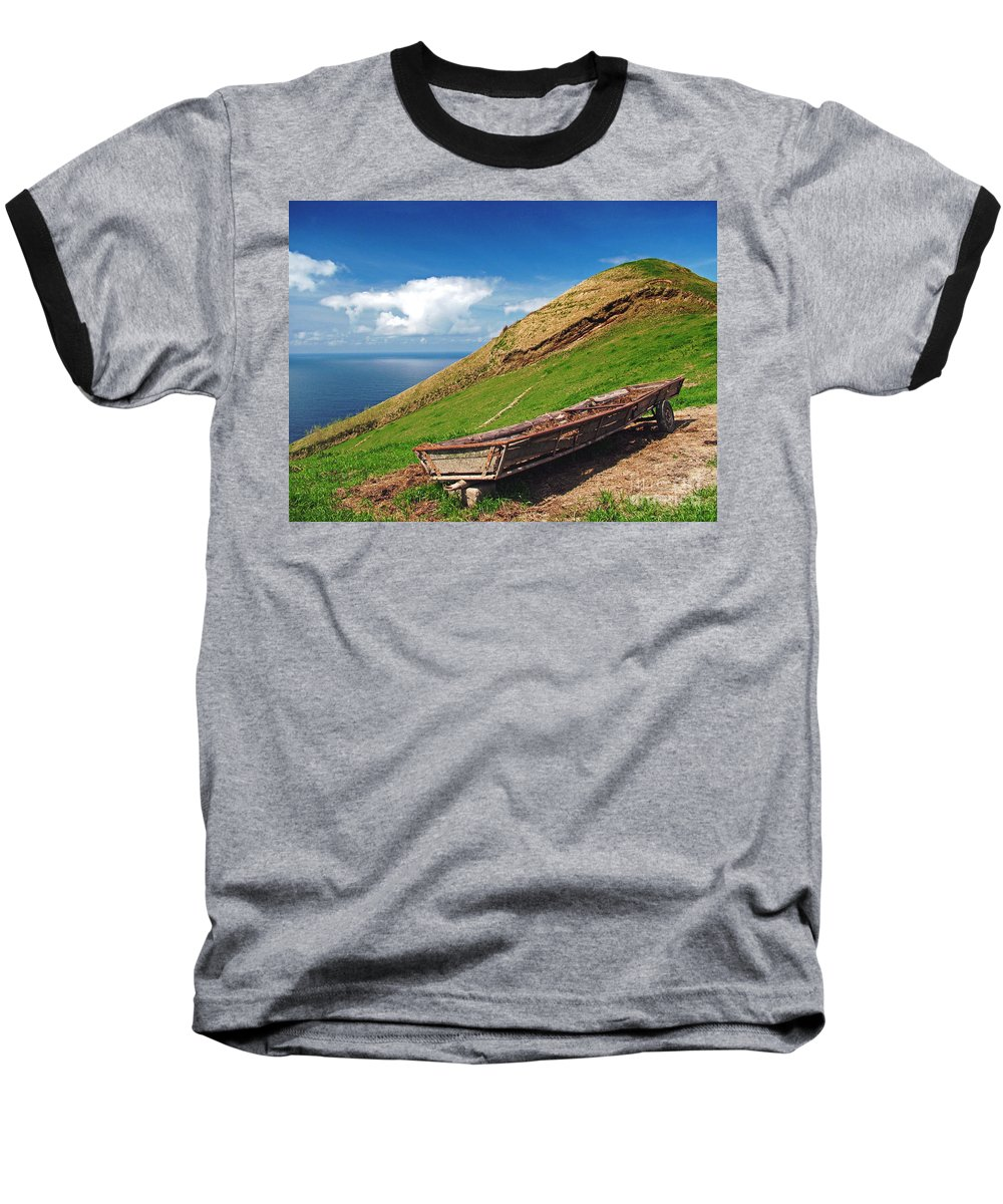 Europe Baseball T-Shirt featuring the photograph Farming In Azores Islands by Gaspar Avila