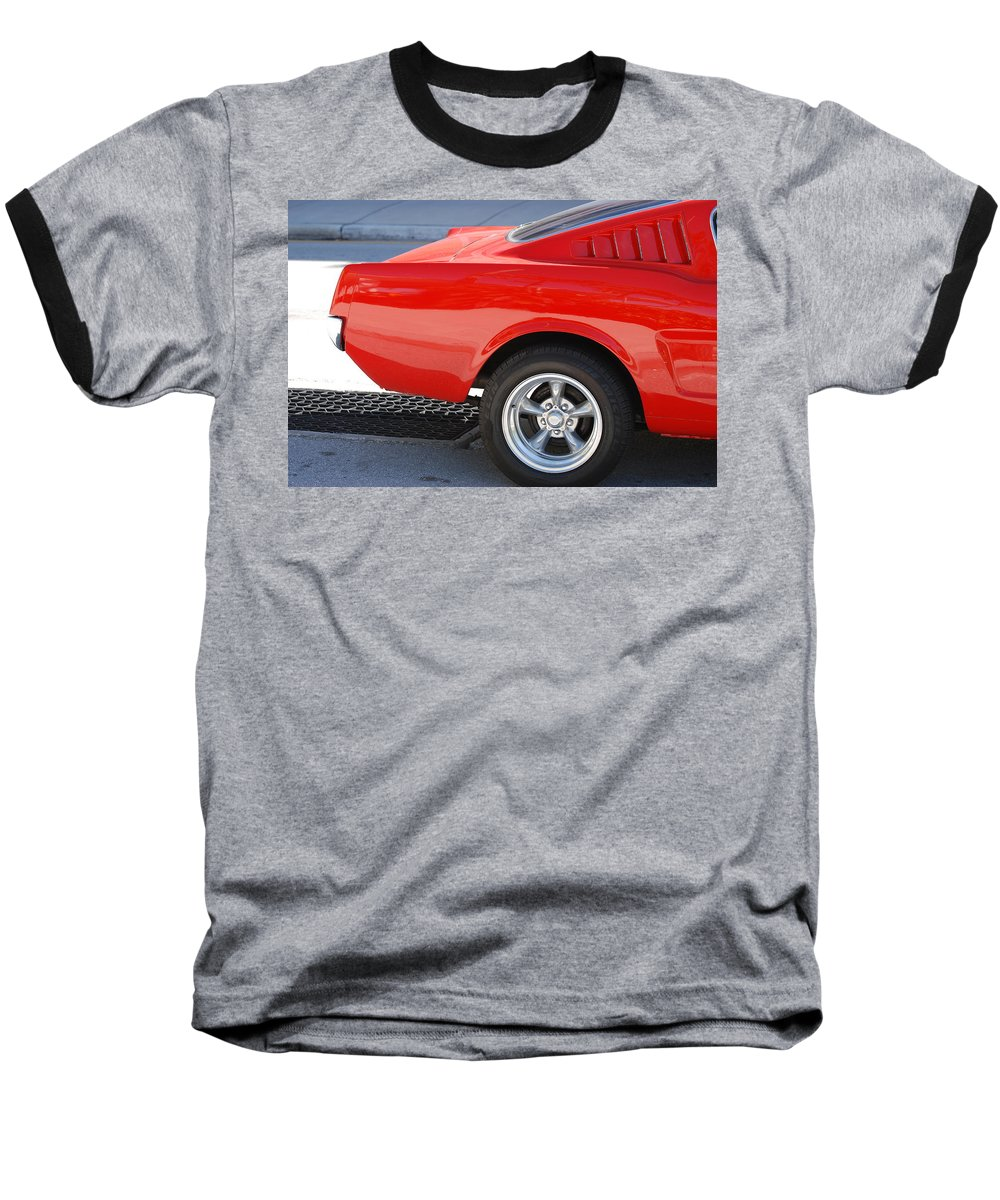 Ford Baseball T-Shirt featuring the photograph Fastback Mustang by Rob Hans
