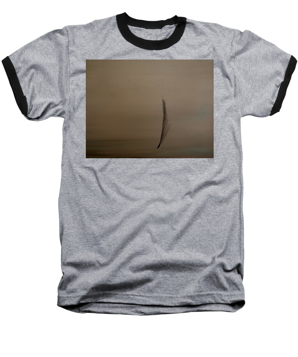 Feather Baseball T-Shirt featuring the painting Feather by Jack Diamond