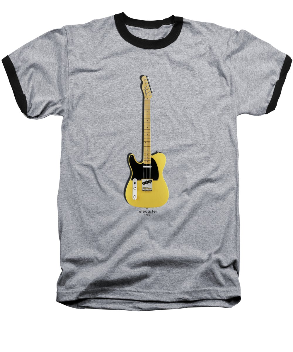Fender Baseball T-Shirt featuring the photograph Fender Telecaster by Mark Rogan
