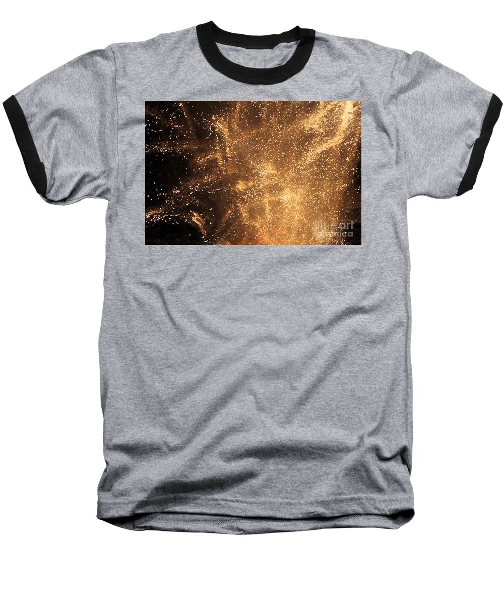 Fireworks Baseball T-Shirt featuring the photograph Fired Up by Debbi Granruth
