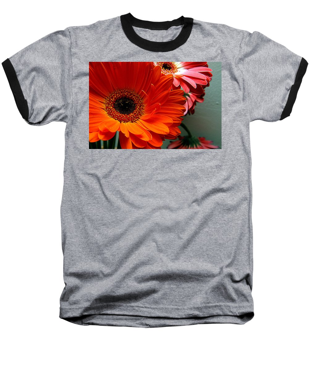 Clay Baseball T-Shirt featuring the photograph Floral Art by Clayton Bruster