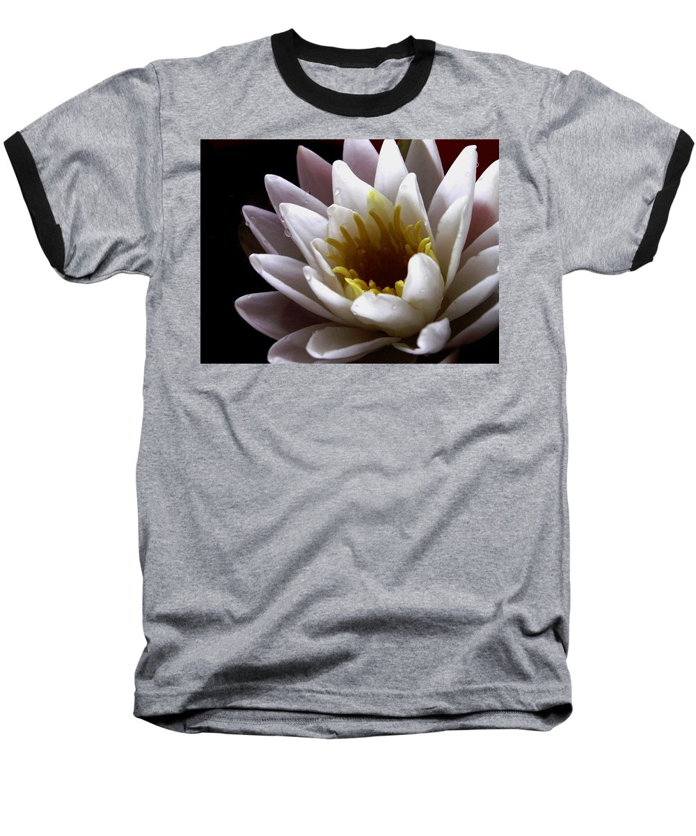 Flowers Baseball T-Shirt featuring the photograph Flower Waterlily by Nancy Griswold