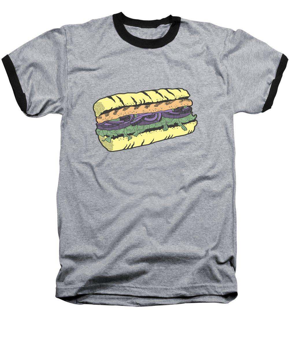 Food Masquerade Baseball T-Shirt