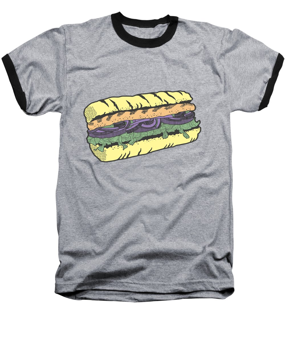 Food And Beverage Baseball T-Shirts