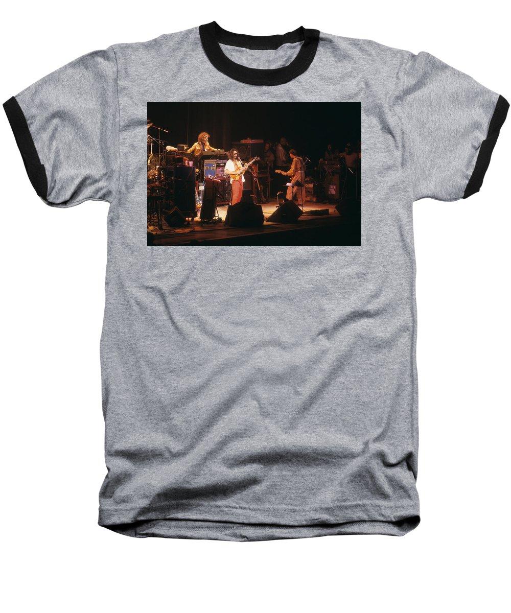 Frank Zappa Baseball T-Shirt featuring the photograph Frank Zappa by Rich Fuscia