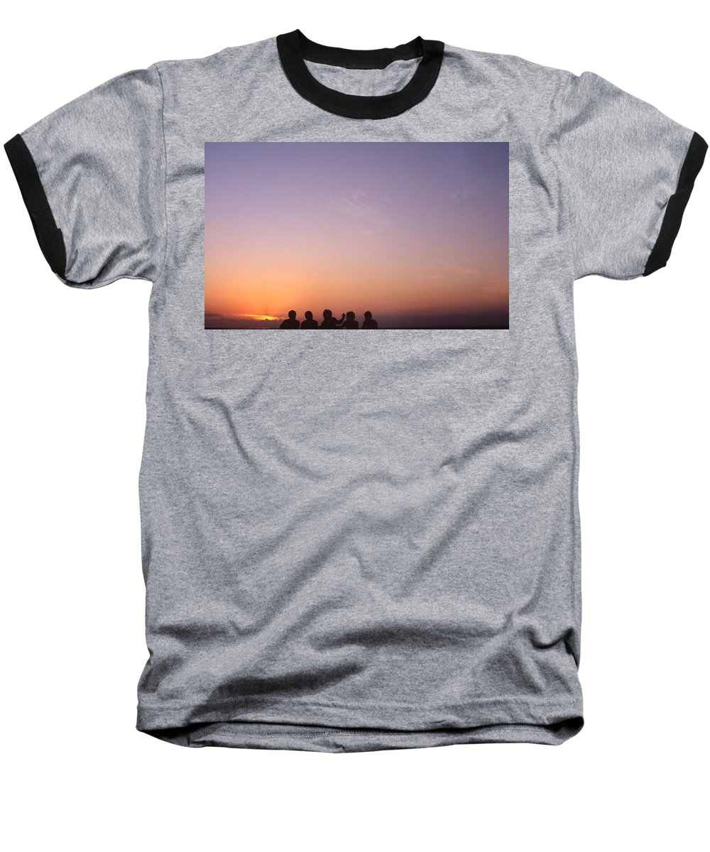Bahia Baseball T-Shirt featuring the photograph Friends by Patrick Klauss