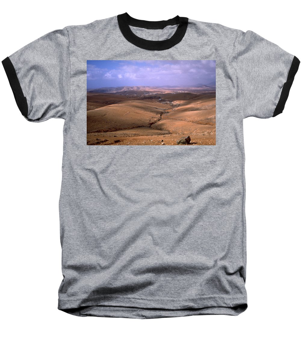 Fuerteventura Baseball T-Shirt featuring the photograph Fuerteventura I by Flavia Westerwelle