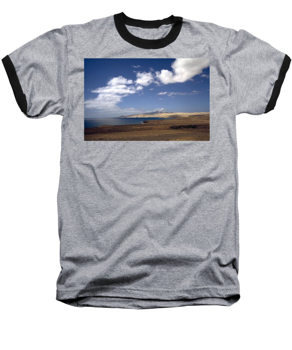 Fuerteventura Baseball T-Shirt featuring the photograph Fuerteventura II by Flavia Westerwelle