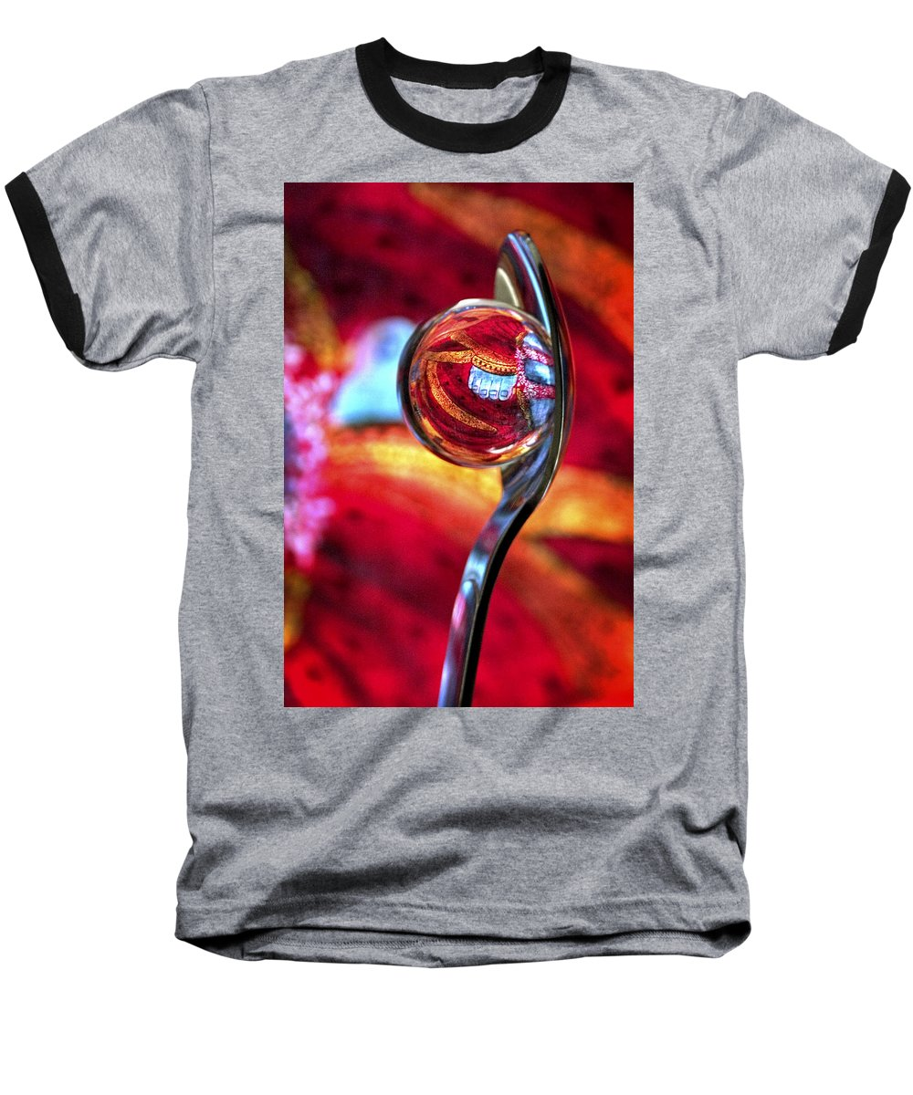 Ball Baseball T-Shirt featuring the photograph Ganesh Spoon by Skip Hunt