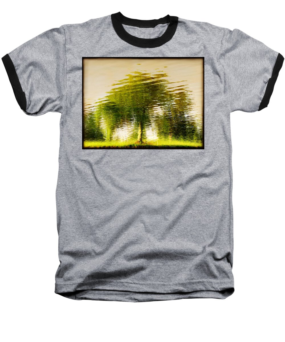 Abstract Baseball T-Shirt featuring the photograph Gentle Sun by Dana DiPasquale