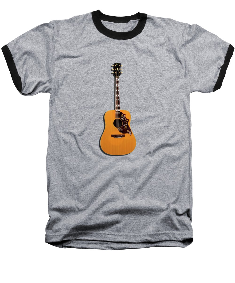 Gibson Hummingbird Baseball T-Shirt featuring the photograph Gibson Hummingbird 1968 by Mark Rogan
