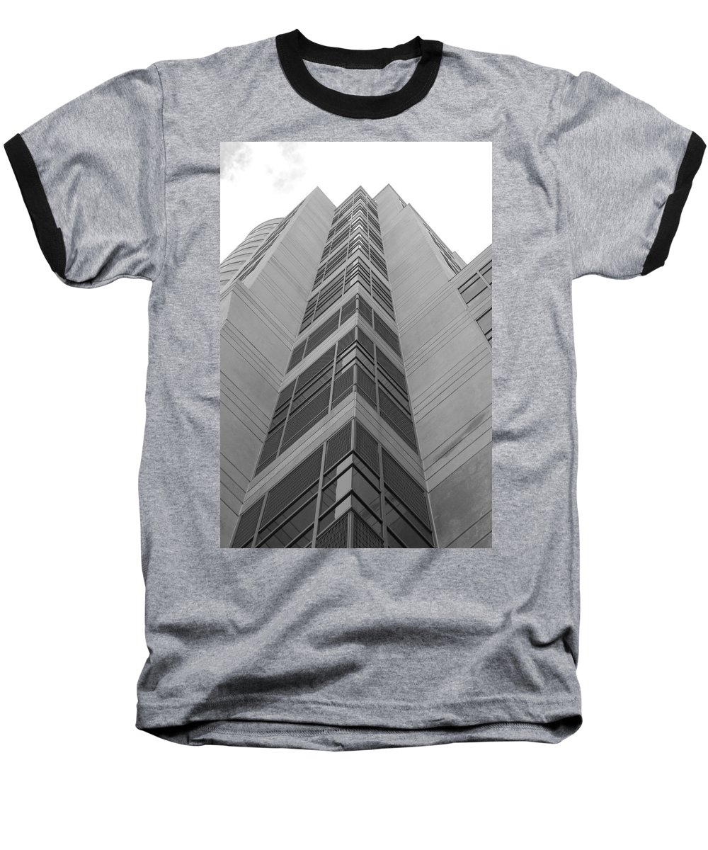 Architecture Baseball T-Shirt featuring the photograph Glass Tower by Rob Hans