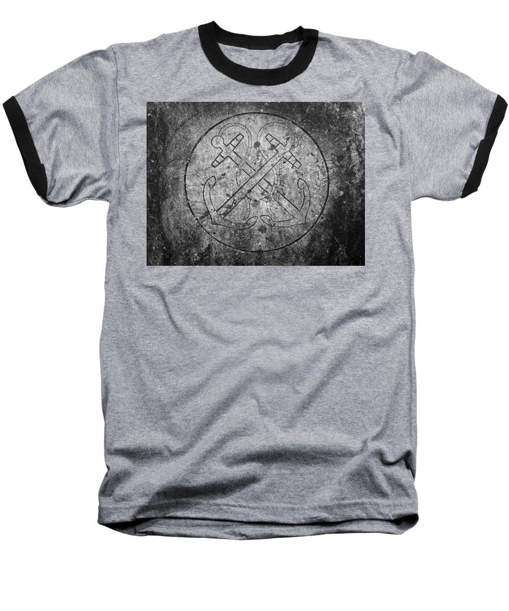 Irish Baseball T-Shirt featuring the photograph Grave Of Cadet Soady Macroom Ireland by Teresa Mucha
